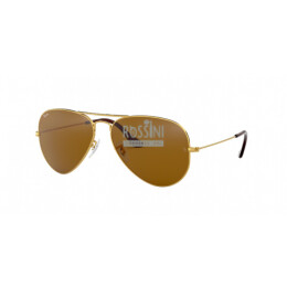 Occhiali Ray Ban RB 3025 001/33 55/14/135 AVIATOR LARGE METAL