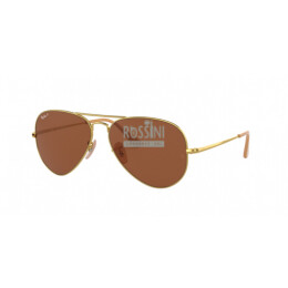 Occhiali Ray Ban RB 3689 906447 55/14/140 AVIATOR METAL II