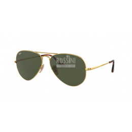 Occhiali Ray Ban RB 3689 914731 55/14/140 AVIATOR METAL II