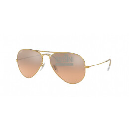 Occhiali Ray Ban RB 3025 001/3E 58/14/135 AVIATOR LARGE METAL