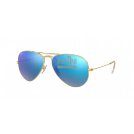 Occhiali Ray Ban RB 3025 112/17 55/14/135 AVIATOR LARGE METAL