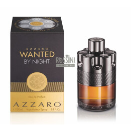 AZZARO WANTED BY NIGHT UOMO EDP 100 ML SPRAY INSCATOLATO