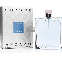 AZZARO CHROME UOMO EDT 200 ML SPRAY INSCATOLATO