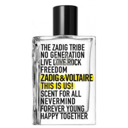 ZADIG & VOLTAIRE THIS IS US! UNISEX EDT 100 ML TESTER