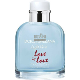 DOLCE & GABBANA LIGHT BLUE LOVE IS LOVE UOMO EDT 125ML TESTER
