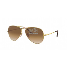 Occhiali Ray Ban RB 3689 914751 55/14/140 AVIATOR METAL II