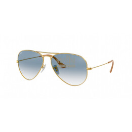 Occhiali Ray Ban RB 3025 001/3F 55/14/135 AVIATOR LARGE METAL