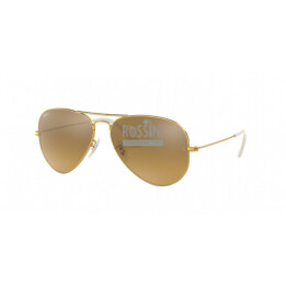 Occhiali Ray Ban RB 3025 001/3K 55/14/135 AVIATOR LARGE METAL