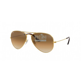 Occhiali Ray Ban RB 3025 001/51 55/14/135 AVIATOR LARGE METAL