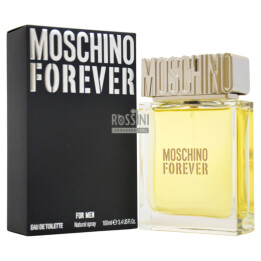 MOSCHINO FOREVER UOMO EDT 100 ML SPRAY INSCATOLATO