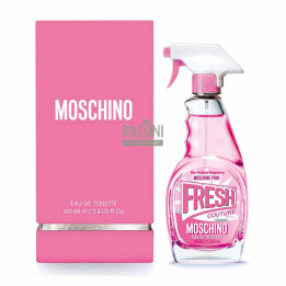 MOSCHINO FRESH PINK COUTURE DONNA EDT 100 ML INSCATOLATO