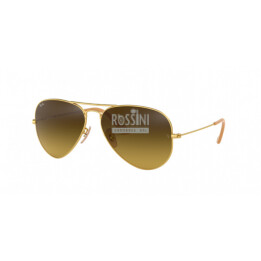 Occhiali Ray Ban RB 3025 112/85 55/14/135 AVIATOR LARGE METAL