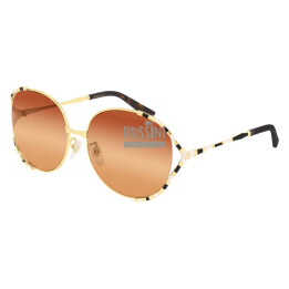 Occhiali Gucci GG0595S 003-GOLD-GOLD-ORANGE 59/17/135