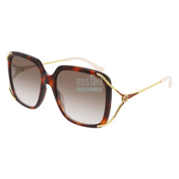 Occhiali Gucci GG0647S 002-HAVANA-GOLD-BROWN 56/18/130