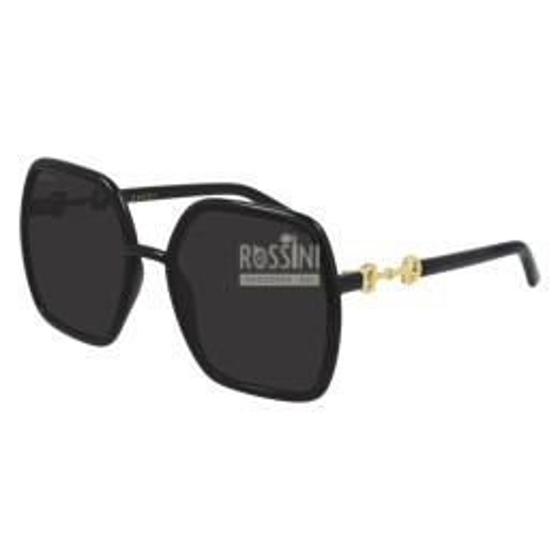Occhiali Gucci GG0890S 001-BLACK-BLACK-GREY 55/19/140