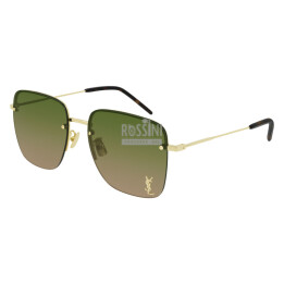 Occhiali Yves Saint Laurent SL 312M 003-GOLD-GOLD-GREEN 58/17/145