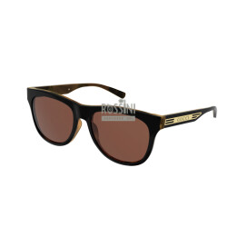 Occhiali Gucci GG0980S 002-BLACK-BLACK-ORANGE 55/17/145
