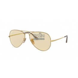 Occhiali Ray Ban RB 3689 001/T2 55/14/140 AVIATOR METAL II